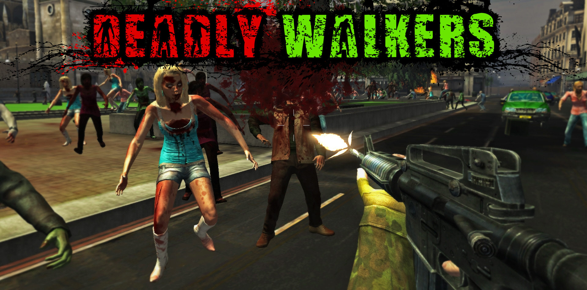 Deadly Walkers Zombie Game Pc Mac Unity Community