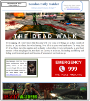Deadly Walkers Newspaper
